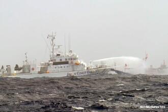 Trei nave guvernamentale chineze au intrat in apele teritoriale ale insulelor administrate de Tokyo