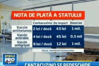 Dupa 3 ani in care am dat banii pe vaccinuri straine, statul va redeschide Institutul Cantacuzino