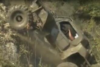Fabricate si testate in Romania: masini offroad mai tari decat orice Hummer de razboi VIDEO