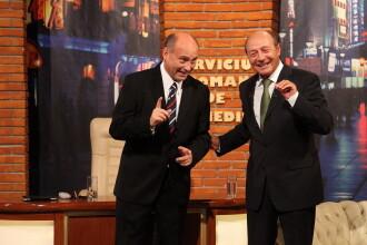 """Traian Basescu este invitatul primei editii a """"Serviciului Roman de Comedie"""", 2 octombrie, ora 20.30"""