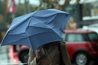 ANM a emis Cod portocaliu și galben de ploi torențiale și grindină în aproape toată țara