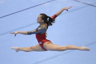 Larisa Iordache a castigat medalia de argint la individual compus la Campionatul Mondial de gimnastica