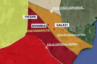 Legaturile posibile gasite de specialisti intre cele 200 cutremure din Galati si seismul din Vrancea