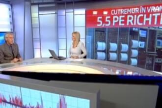 Mircea Radulian, pentru Stirile ProTV. Care sunt sansele producerii unui seism puternic in Vrancea