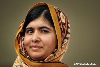 Povestea aparte a lui Malala Yousafzai. Pakistaneza de 16 ani propusa la premiul Nobel pentru pace