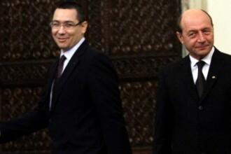 Ponta: Presedintele va respinge bugetul si va sesiza CC. Basescu: Premierul nu a inteles discutia