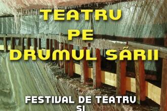 Horatiu Malaele, George Mihaita si Valtentin Teodosiu, pe scena Teatrului din Turda