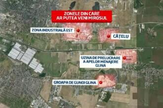 Fenomenul straniu de langa Bucuresti. Localnicii se baricadeaza in case din cauza mirosului de gaze