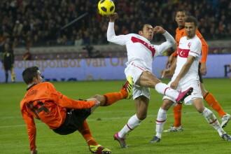 TURCIA - OLANDA, 0-2. Robben si Sneijder au marcat