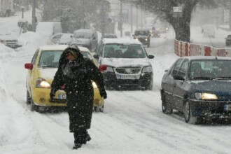 AVERTIZARE METEO pana marti, ora 20:00. Vant puternic in Dobrogea si Muntenia, ninsori la munte