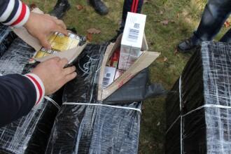 Perchezitii la o grupare care se ocupa de contrabanda cu tigari, in Timis. Prejudiciul depaseste 40.000 de lei