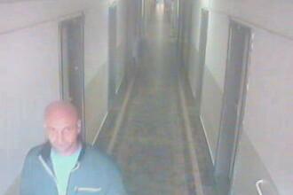 Hot surprins de camerele de supraveghere cand fura haine dintr-un camin al Universitatii Politehnica