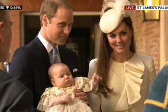 Printul George al Marii Britanii a avut parte deja de prima sa calatorie cu avionul. Cum a reactionat mostenitorul britanic