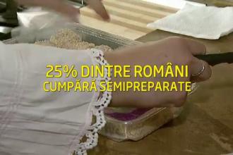 Secretul din spatele produselor semipreparate, preferate de 25% dintre romani in 2013