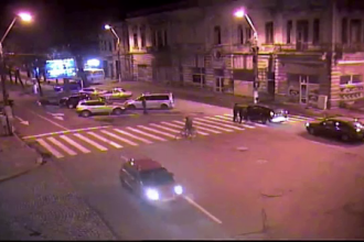 Orasul din Romania fara reguli de circulatie. Cum au fost filmati acesti soferi din Braila
