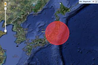 Valuri TSUNAMI de 40 de centimetri in nord-estul Japoniei, dupa seismul de 8,2 din Chile