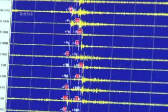 Cutremur in Vrancea, produs marti seara. Seismul a avut loc la o adancime de 120 de kilometri