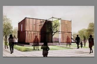 Casa inteligenta, cu sera in mijloc - inventia unor tineri romani care impaca tehnologia cu natura
