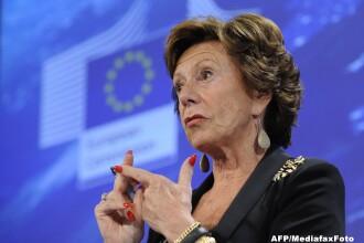 iLikeIT. Comisarul european Neelie Kroes vorbeste deschis despre spionajul impotriva liderilor UE