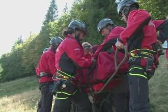 Exercitiu de amploare in Muntii Rodnei. In cat timp au ajuns salvatorii la presupusele victime. VIDEO