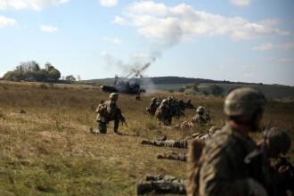 """Soldatii romani au respins un """"ATAC"""" impreuna cu puscasii marini. GALERIE FOTO: cum ne apara aliatii nostri din NATO"""