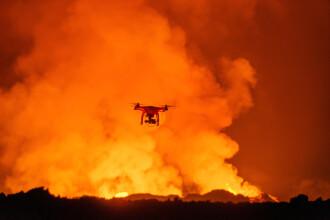 Imagini spectaculoase filmate de un GoPro montat pe o drona cu