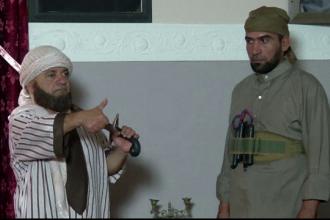 Un serial irakian de comedie ridiculizeaza temutul Stat Islamic. Actorii au ales sa ramana anonimi de frica extremistilor