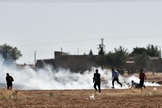 O echipa BBC a fost atacata de politia turca la granita cu Siria. Jurnalistii filmau un protest al kurzilor. VIDEO