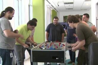Birourile unde angajatii au timp sa se joace si sa se relaxeze. Tot mai multe firme se preocupa de confortul angajatilor