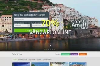 Marea migratie catre mediul online. Peste 70% din pachetele de turism se vand pe internet, iar bancile urmeaza exemplul