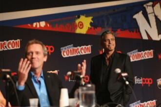 George Clooney a plecat din luna de miere pentru a participa la prezentarea primelor imagini din Tomorrowland