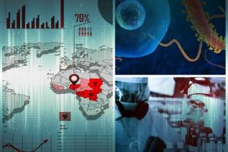 HARTA INTERACTIVA: Epidemia de Ebola, printre cele mai grave din istorie. Potrivit OMS, rata mortalitatii este de 50%