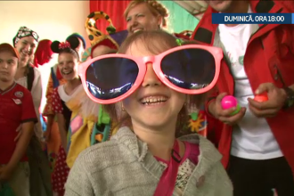 Locul magic din Romania unde copiii bolnavi invata sa lupte impotriva cancerului.