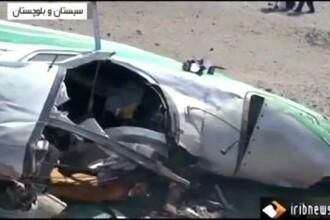 Tragedie in Iran. Un avion al politiei s-a prabusit in munti, iar toti cei 7 oficiali aflati la bord au murit