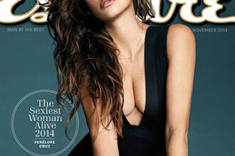 Penelope Cruz, numita cea mai sexy femeie in viata de revista Esquire