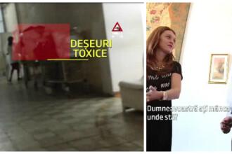 Spitalul romanesc unde deseurile toxice si mancarea se intersecteaza. Reactia managerului la intrebarea