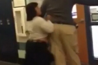 Scandal la o scoala din SUA. O profesoara a fost suspendata dupa ce a dat cu o eleva de perete