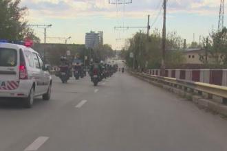 Motociclistii s-au adunat in Gaesti pentru a-l comemora pe politistul lovit mortal de o masina. Sfaturile pentru soferi