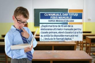 Manualele digitale, o tehnologie prea avansata pentru scolile din Romania. Realitatea trista a unui sistem ramas in urma