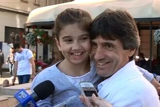 Cluburile sportive din Timisoara au strans bani pentru fetita fotbalistului Iosif Rotariu. Kassandra are nevoie de ajutor