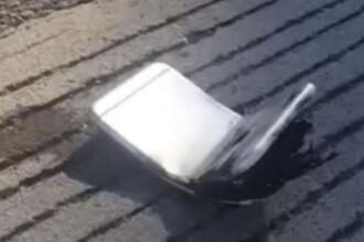 Un barbat din SUA sustine ca iPhone-ul 6 pe care il detine a luat foc, dupa ce s-a indoit in buzunar. Ce a patit tanarul