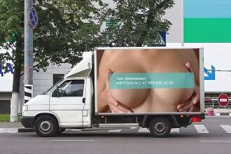 Reclama sexy care a facut 520 de accidente intr-o zi. Agentia de publicitate isi asuma raspunderea pe sfert