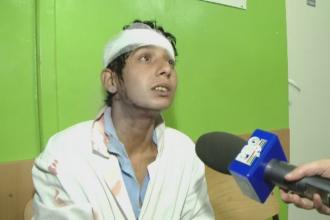 O femeie din Timisoara s-a trezit cu o bucata de tavan in cap, la Spitalul de Copii: