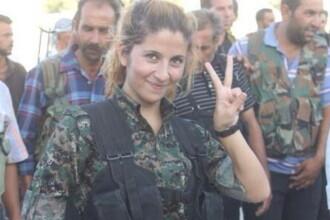 Luptatoarea kurda ajunsa celebra pentru ca a ucis 100 de jihadisti in batalia pentru Kobane ar fi fost decapitata de SI