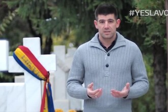 Dragos Bucurenci spune YES LA VOT din Cimitirul Eroilor Revolutiei: Ei si-au dat viata ca eu sa pot sa-mi aleg liber viitorul