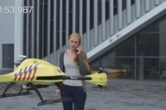 Drona-ambulanta ajunge la pacient intr-un minut. Tehnologia care ar putea schimba viitorul medicinei de urgenta