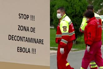 Roman venit recent din Nigeria, adus in Capitala, cu suspiciune de Ebola. Testele preliminare arata ca sufera de malarie