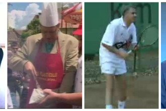 Arhiva candidatilor: imagini nemaivazute de 10 ani. Colectia de pantofi a lui Udrea, Iohannis la gratar, Melescanu – tenismen