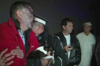Circ cu deputatul PSD Mircia Muntean. L-au gasit in tufisuri, fara pantofi si cu un caine in brate: