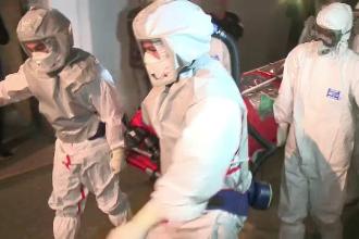 Barbatul din Constanta suspect de Ebola a ajuns la spitalul Victor Babes. Ministerul Sanatatii anunta ca e vorba de malarie